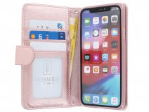 Glitsie Zip Case met Rits Rosé - iPhone 11 hoesje