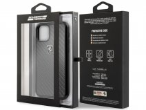 Ferrari Carbon Fiber Hard Case - iPhone 11/XR hoesje