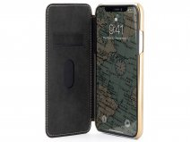 Greenwich Blake Folio Blossom/Gold - iPhone 11/XR Hoesje Leer
