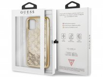 Guess Monogram Liquid Glitter Case - iPhone 11/XR hoesje