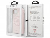 Guess 4G Silicon Hard Case Roze - iPhone 11/XR hoesje