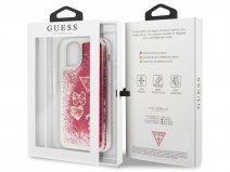 Guess Floating Logo Case Roze - iPhone 11 hoesje