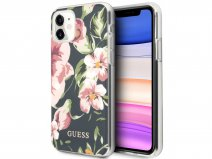 Guess Floral TPU Skin Case No. 3 - iPhone 11/XR hoesje