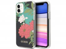 Guess Floral TPU Skin Case No. 1 - iPhone 11/XR hoesje