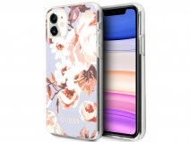 Guess Floral TPU Skin Case No. 2 - iPhone 11/XR hoesje