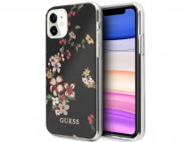 Guess Floral TPU Skin Case No. 4 - iPhone 11/XR hoesje