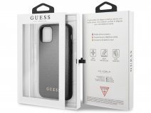 Guess Iridescent Hard Case Zwart - iPhone 11/XR hoesje