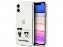 Karl Lagerfeld & Choupette Clear Case - iPhone 11/XR hoesje