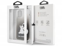 Karl Lagerfeld Fun Choupette Case Zwart - iPhone 11/XR hoesje