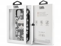 Karl Lagerfeld Floral TPU Case - iPhone 11/XR hoesje