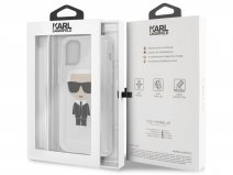 Karl Lagerfeld Iconic TPU Case Zilver - iPhone 11 hoesje