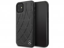 Mercedes-Benz Leather Case Zwart - iPhone 11/XR hoesje