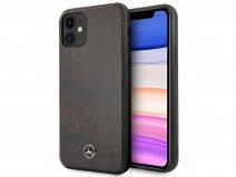 Mercedes-Benz Rosewood Case - Houten iPhone 11/XR hoesje