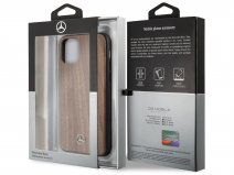 Mercedes-Benz Walnut Case - Houten iPhone 11/XR hoesje