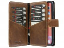 Pierre Cardin True Wallet Bruin Leer - iPhone 11 hoesje