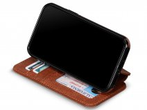 Sena Walletbook Cognac - iPhone 11 Hoesje Leer