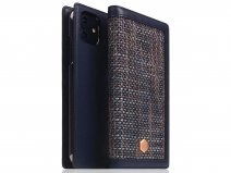 SLG Design D5 CSL Navy Leer - iPhone 11 hoesje