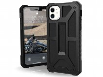 Urban Armor Gear Monarch Leer - iPhone 11 hoesje