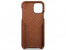 Vaja Grip Leather Case Cognac - iPhone 11 Hoesje Leer