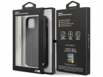 BMW M Sport Stitched Case Zwart - iPhone 11 Pro hoesje