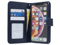 Classic Wallet BookCase Donkerblauw - iPhone 11 Pro hoesje