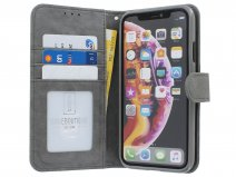 Classic Wallet BookCase Grijs - iPhone 11 Pro hoesje