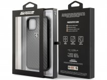 Ferrari Carbon Fiber Hard Case - iPhone 11 Pro hoesje
