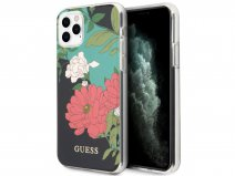 Guess Floral TPU Skin Case No. 1 - iPhone 11 Pro hoesje