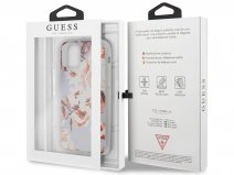 Guess Floral TPU Skin Case No. 2 - iPhone 11 Pro hoesje