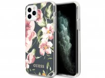 Guess Floral TPU Skin Case No. 3 - iPhone 11 Pro hoesje