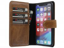 Pierre Cardin True Wallet Bruin Leer - iPhone 11 Pro hoesje