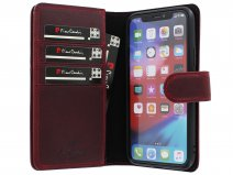Pierre Cardin True Wallet Rood Leer - iPhone 11 Pro hoesje