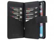 Pierre Cardin True Wallet Zwart Leer - iPhone 12/12 Pro hoesje