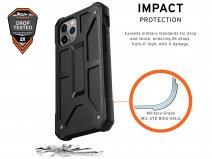 Urban Armor Gear Monarch Carbon - iPhone 11 Pro hoesje