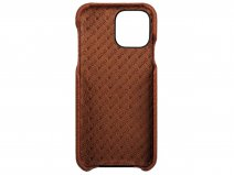 Vaja Grip Leather Case Cognac - iPhone 11 Pro Hoesje Leer