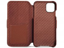 Vaja Folio Case Cognac - iPhone 11 Pro Hoesje Leer
