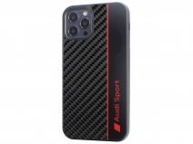 Audi R8 Series Carbon Case Zwart - iPhone 11 Pro Max hoesje