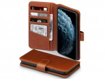 CaseBoutique Leather Wallet Cognac Leer - iPhone 11 Pro Max hoesje