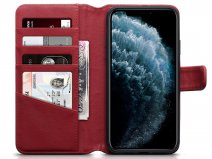 CaseBoutique Leather Wallet Rood Leer - iPhone 11 Pro Max hoesje