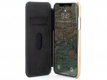 Greenwich Blake Folio Beach House/Gold - iPhone 11 Pro Max Hoesje Leer