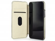 Greenwich Blake Folio Sage/Gold - iPhone 11 Pro Max Hoesje Leer