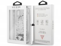 Guess Floating Logo Case Zilver - iPhone 11 Pro Max hoesje
