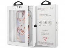 Guess Floral TPU Skin Case No. 2 - iPhone 11 Pro Max hoesje