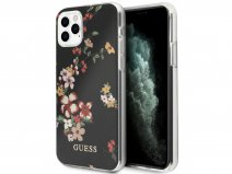 Guess Floral TPU Skin Case No. 4 - iPhone 11 Pro Max hoesje