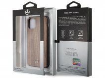 Mercedes-Benz Walnut Case - Houten iPhone 11 Pro Max hoesje