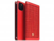 SLG Design D5 CSL Rood Leer - iPhone 11 Pro Max hoesje