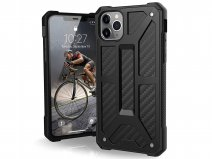 Urban Armor Gear Monarch Carbon - iPhone 11 Pro Max hoesje