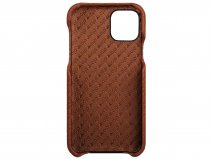 Vaja Grip Leather Case Cognac - iPhone 11 Pro Max Hoesje Leer