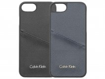Calvin Klein Saffiano Card Case - iPhone 8/7 hoesje