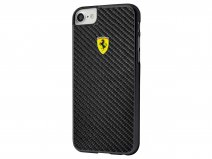 Ferrari Carbon Fiber Case - iPhone 8/7/6s Hoesje